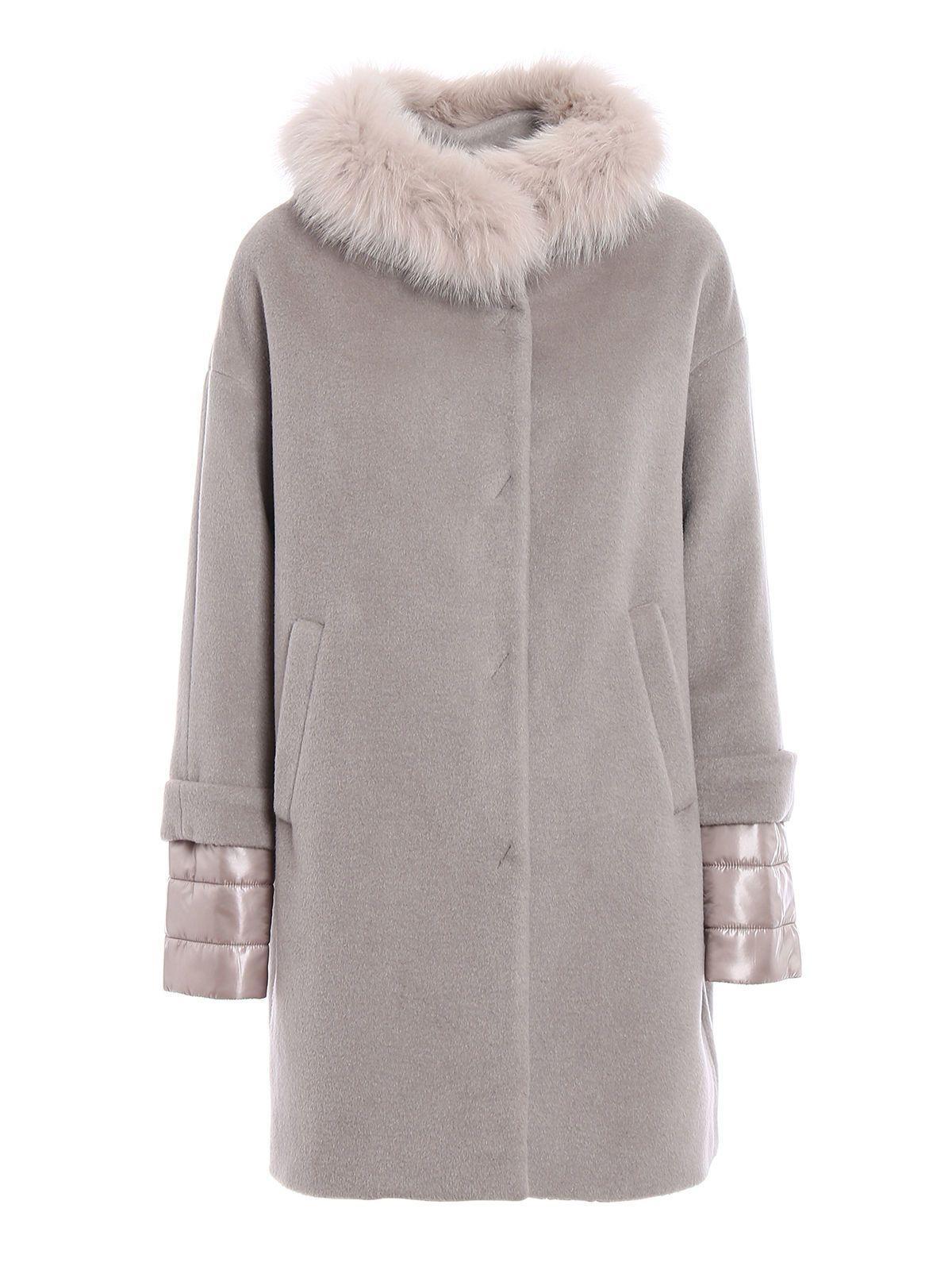 Herno Coat In Beige