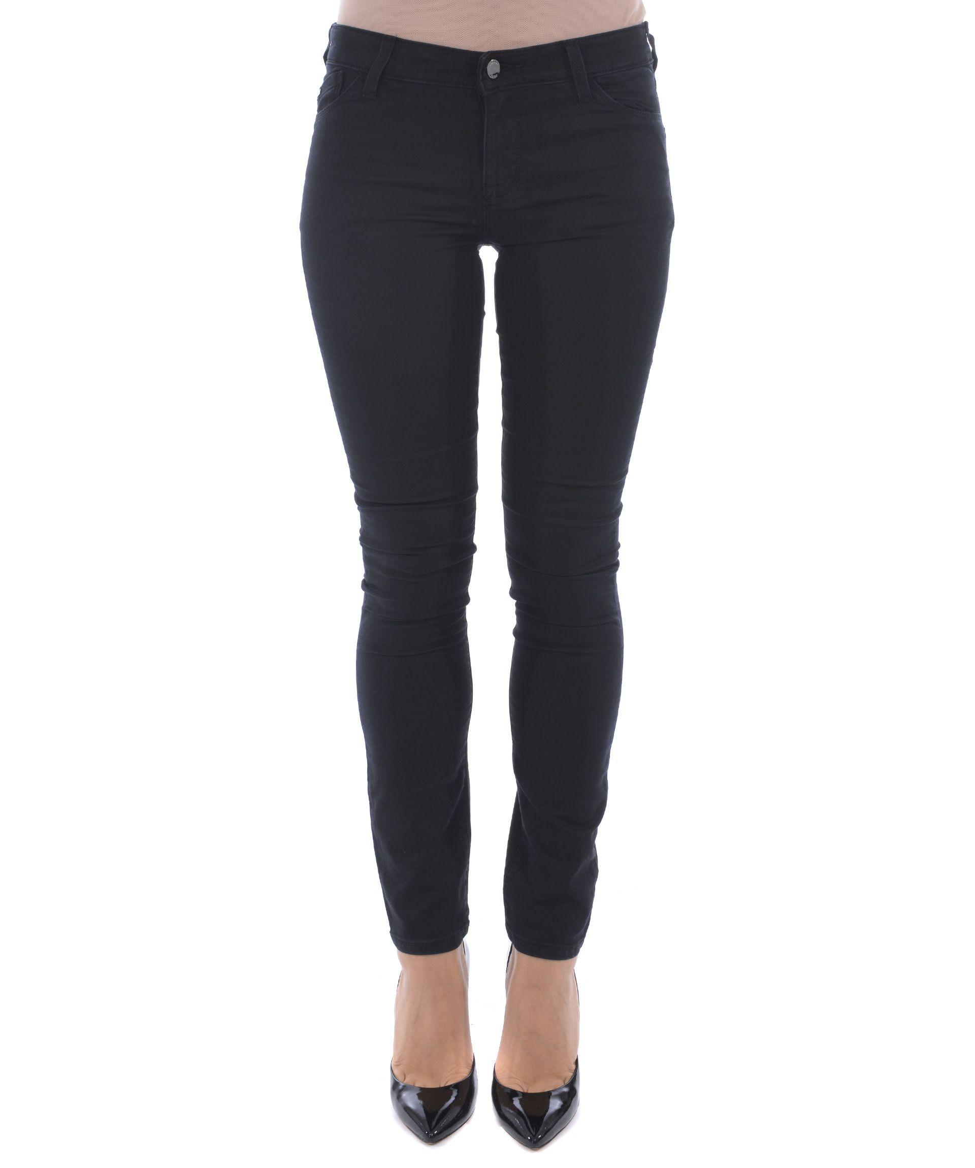 Armani Jeans Lily Jeans In Nero