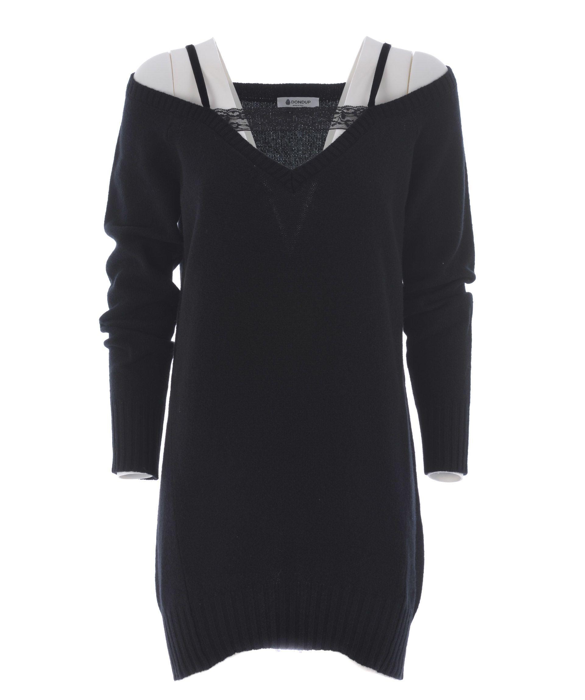Dondup Cold Shoulder Dress