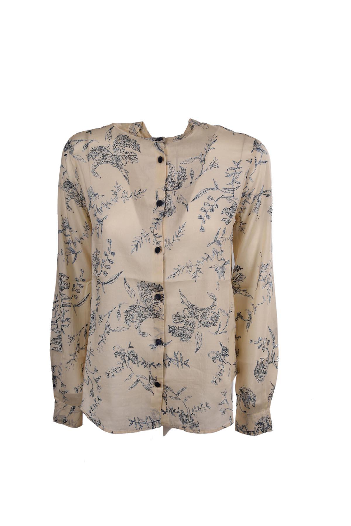 Forte Forte Printed Shirt In Notte