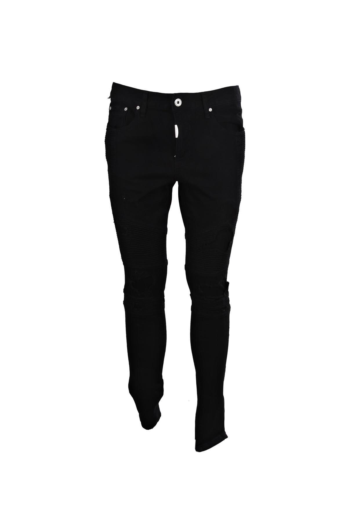Represent Jeans In Jet Black