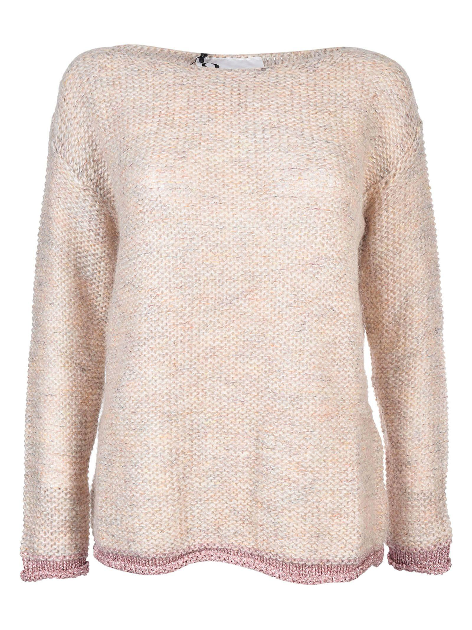 8pm Knitted Sweater In White