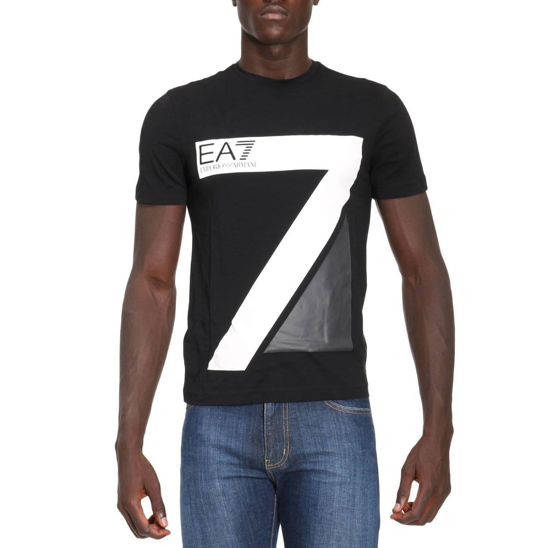 Ea7 T-shirt T-shirt Men  In Black