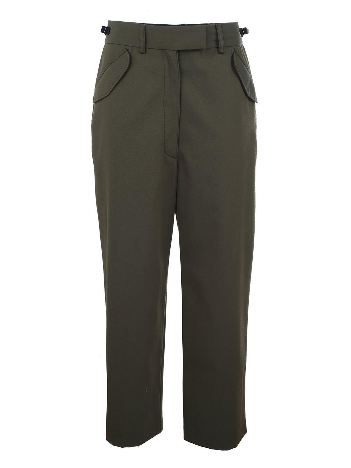 Ter Et Bantine High Waisted Trousers In Green