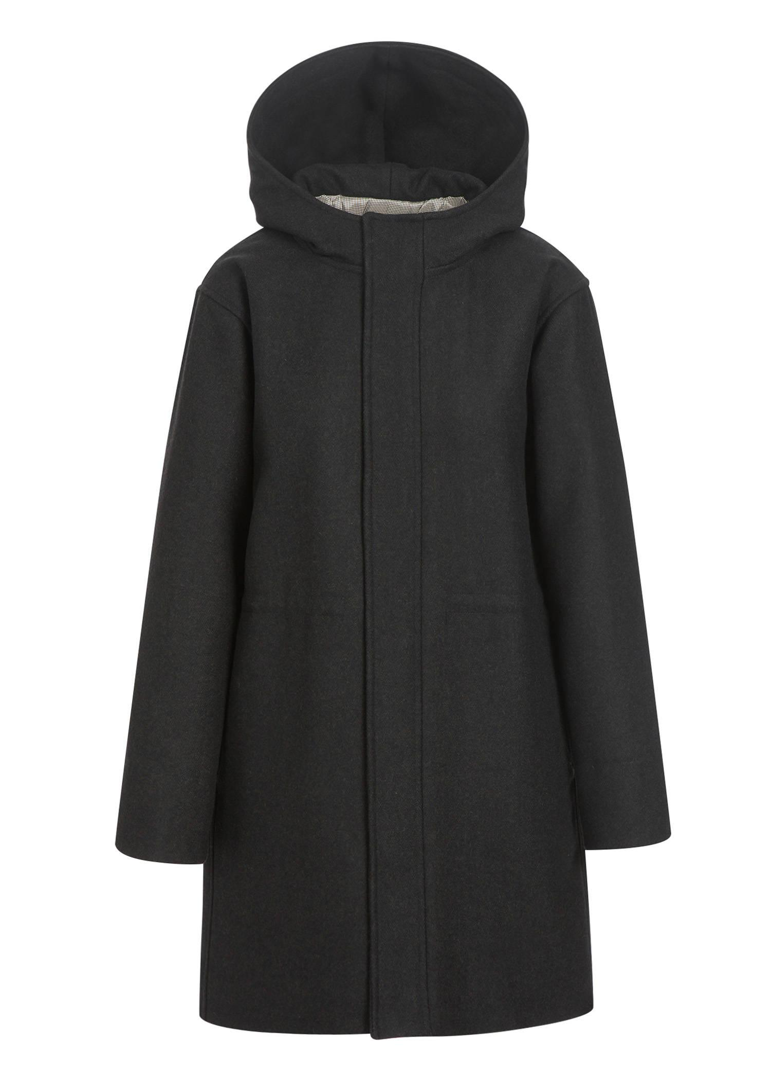 A.p.c. India Parka In Heathered Charcoal Gray