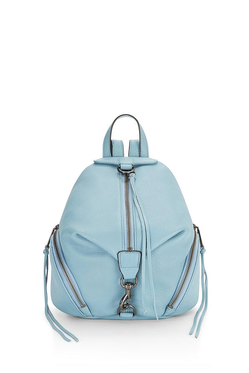 Rebecca Minkoff Medium Julian Backpack In Grey Sky