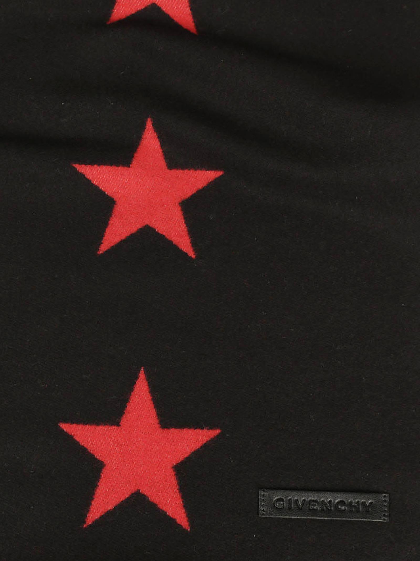 Givenchy Star Motif Scarf