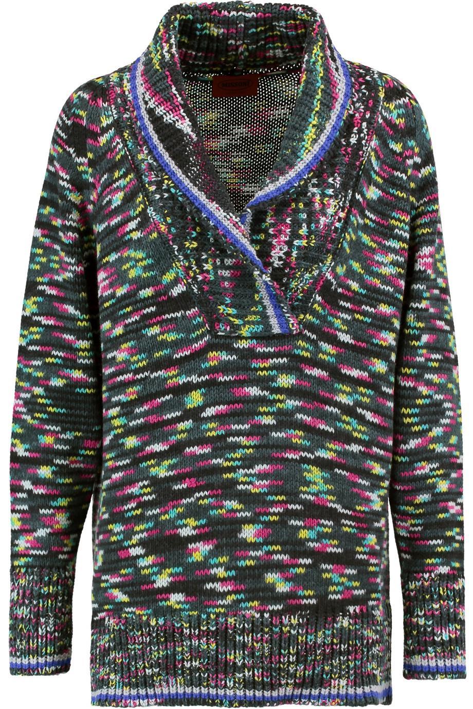 Missoni Crochet-knit Cashmere Sweater