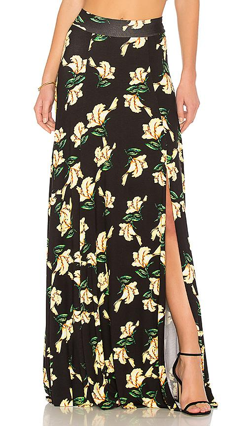 Rachel Pally Josephine Maxi Skirt In Black