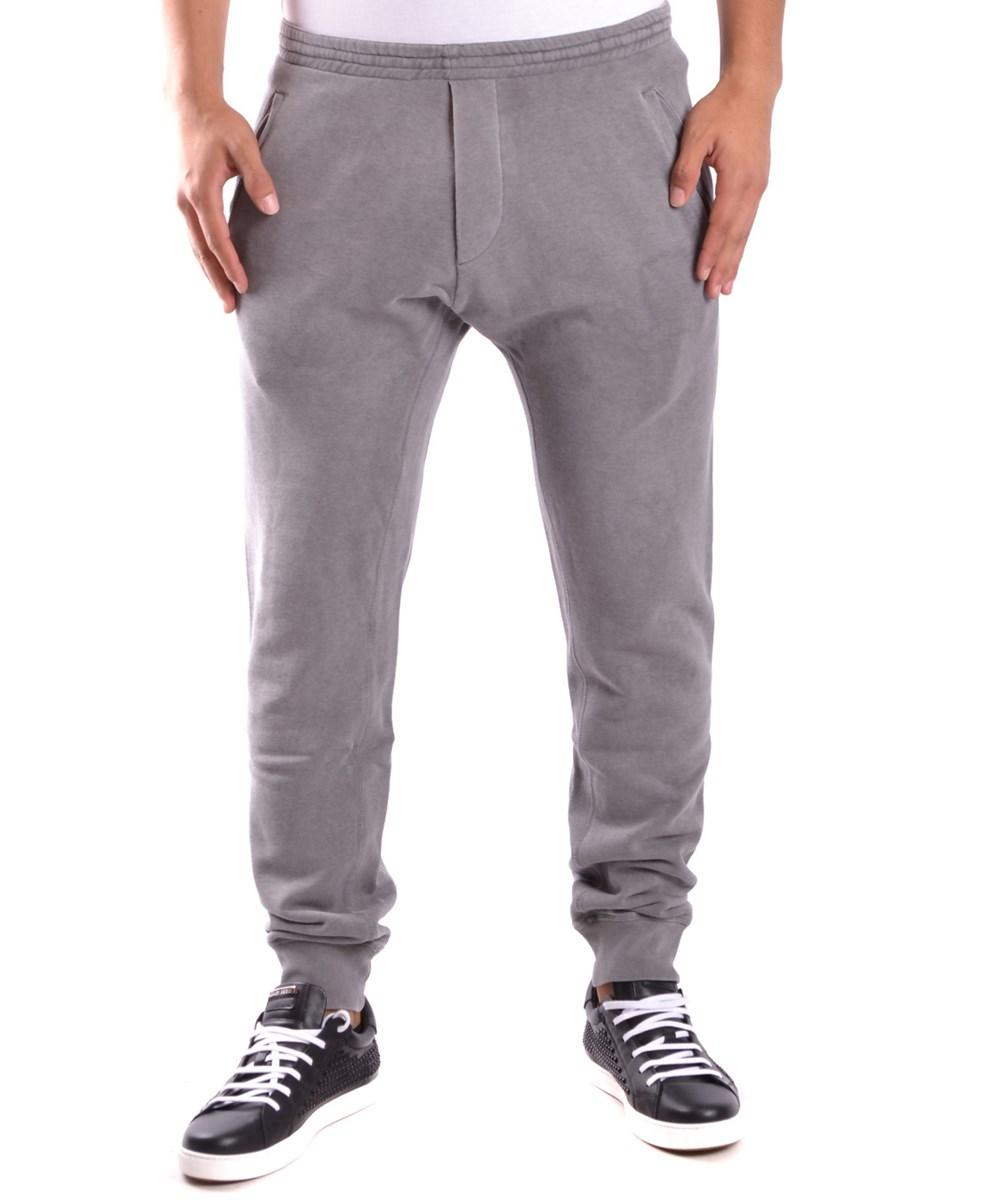 Dsquared2 Men's  Grey Cotton Joggers