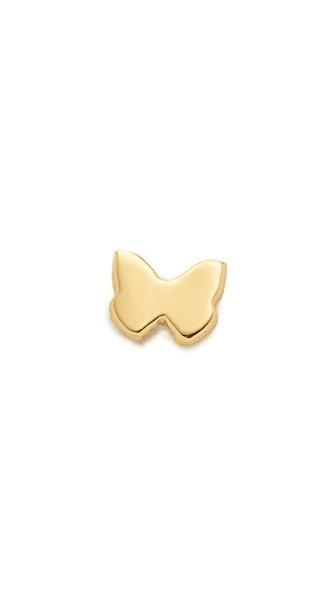Ariel Gordon Jewelry 14k Gold Menagerie Butterfly Stud Earring