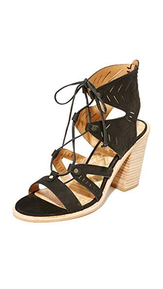 Dolce Vita Luci Sandals In Black