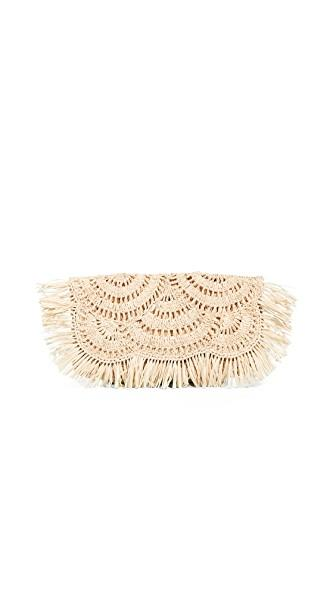 Mar Y Sol Giselle Clutch In Natural