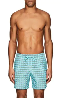 d061c0d905 Vilebrequin Mahina Les 4 Elements Swim Trunks In Lagoon | ModeSens