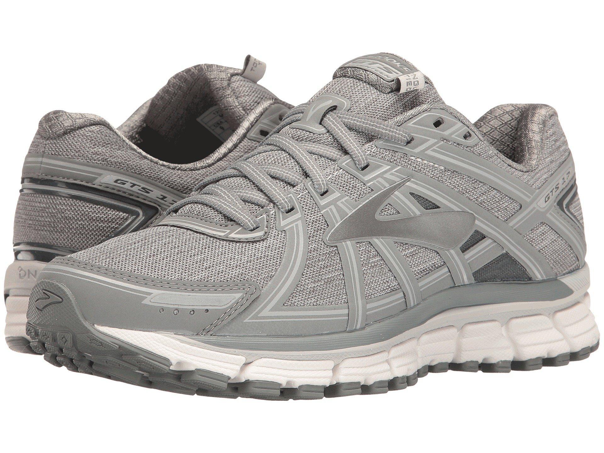 c87e69e4adb Brooks Adrenaline Gts 17 Running Shoe In Heather  Primer Grey  Grey ...