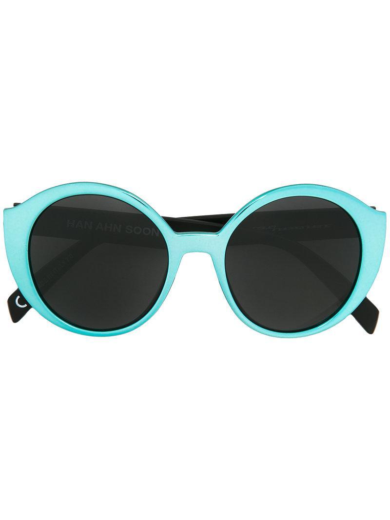Han Ahn Soon Round Sunglasses