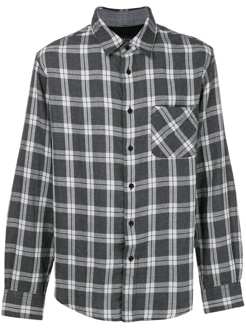 367721507f checked shirt