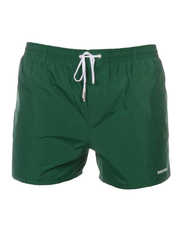 Dsquared2 Swim Trunks In Green