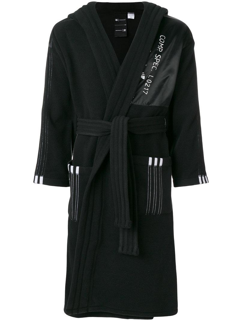 ddbd117b74fb Adidas Originals By Alexander Wang Adidas By Alexander Wang Polar Robe In  Black