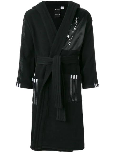Adidas Originals By Alexander Wang Adidas By Alexander Wang Polar Robe In Black