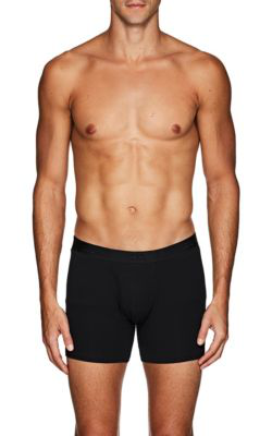 Derek Rose Alex Stretch-Jersey Boxer Briefs In Black