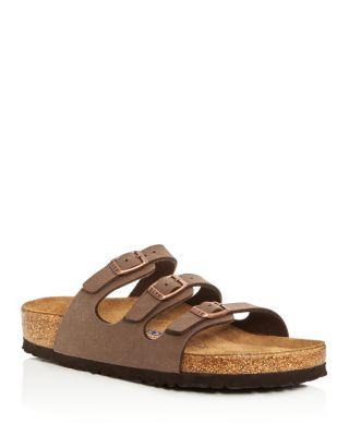 1a94652b5c6 BIRKENSTOCK  FLORIDA BIRKIBUC  SOFT FOOTBED SANDAL (WOMEN)