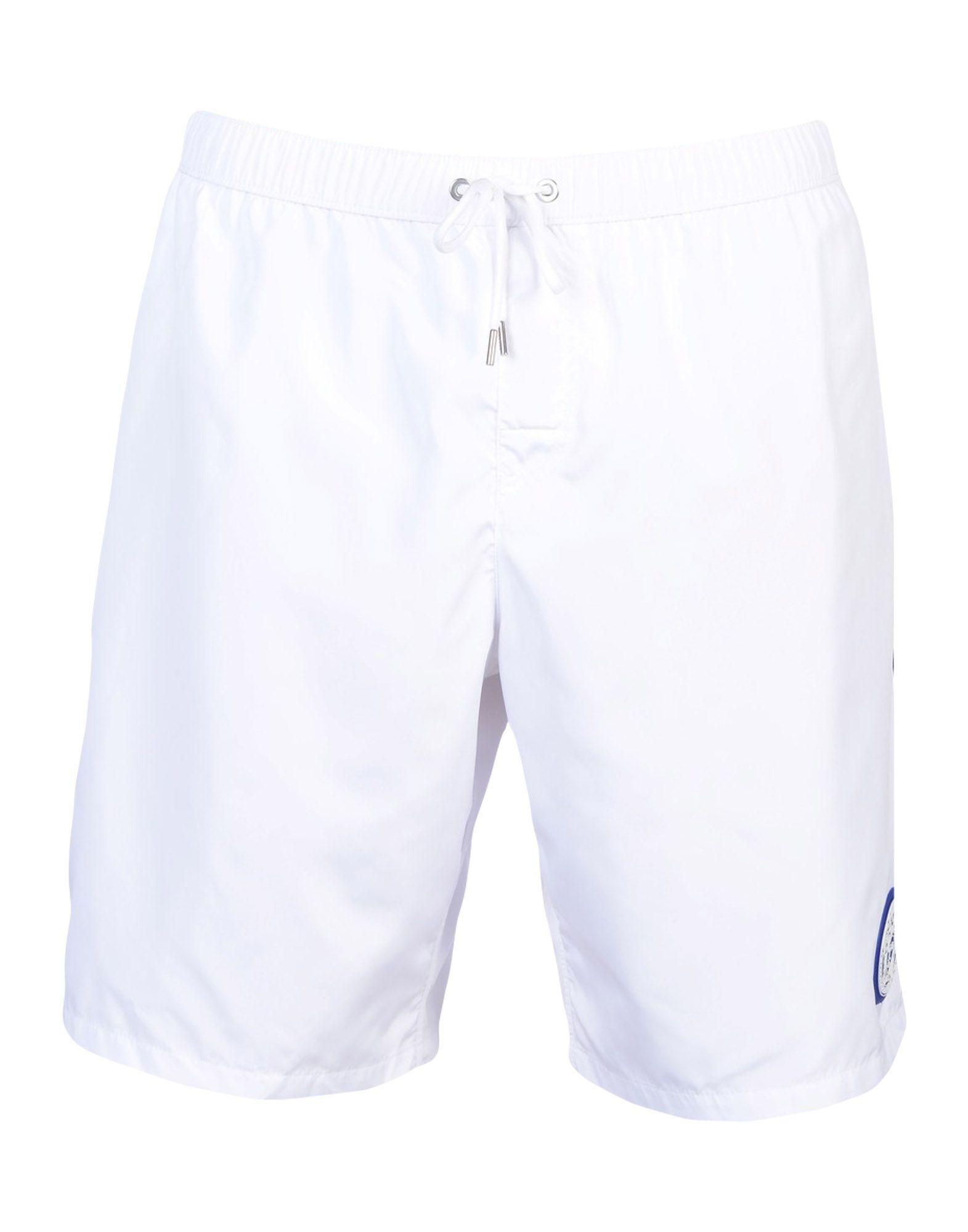 164756788b Versace Swim Shorts In White | ModeSens
