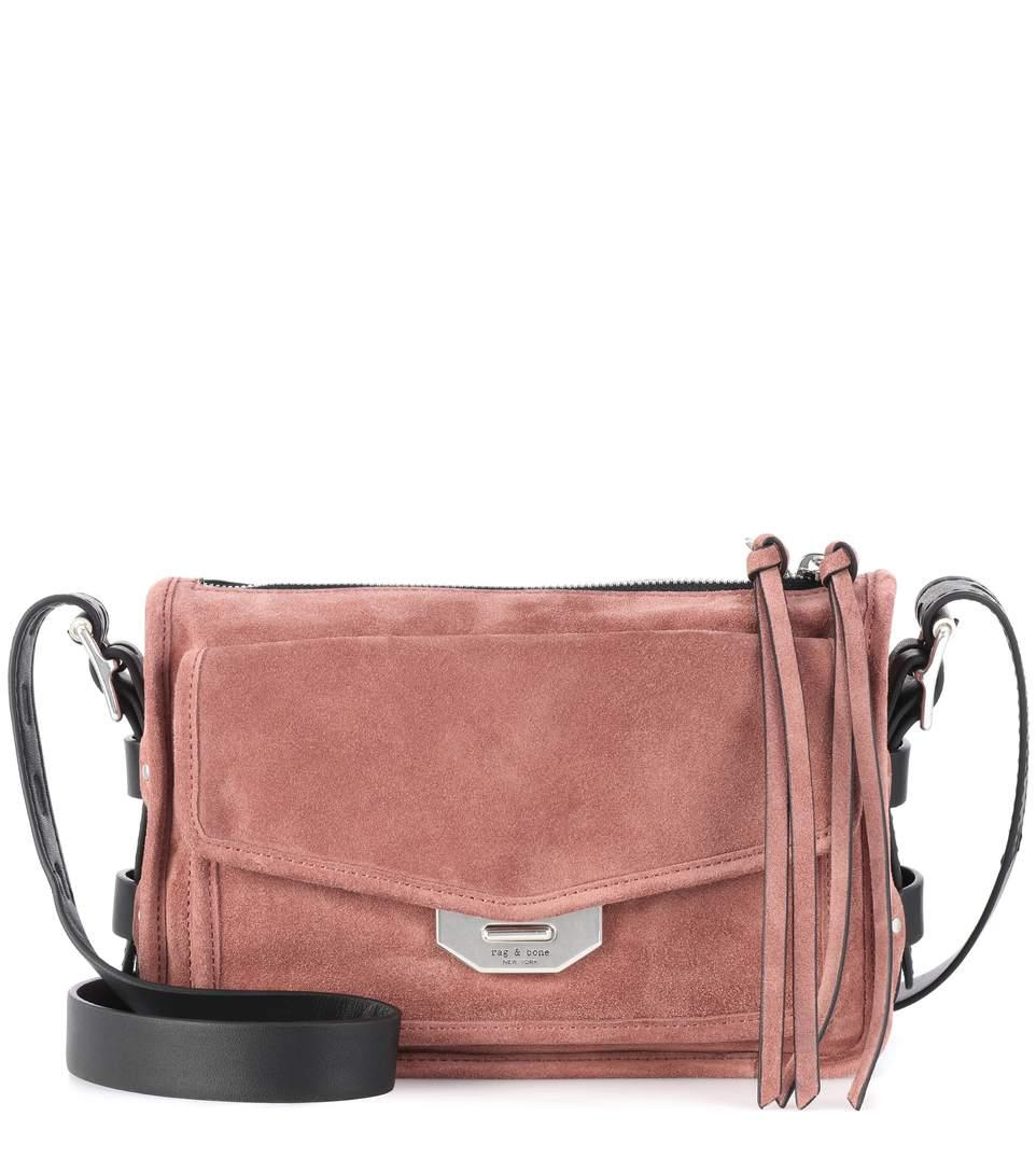 8e1ded629b Rag & Bone Small Field Suede Crossbody Bag In Pink | ModeSens