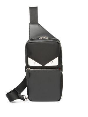 b2232881dea Fendi Monster Crossbody Bag In Black | ModeSens