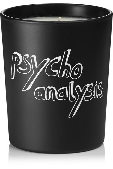 Bella Freud Parfum Psychoanalysis Scented Candle, 190g In Black