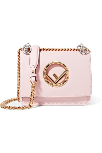896c27805835 Fendi Kan I Mini Leather Shoulder Bag