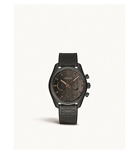 Zenith 24.2042.400/27.r799 Chronomaster El Primero Range Rover Automatic Watch In Black