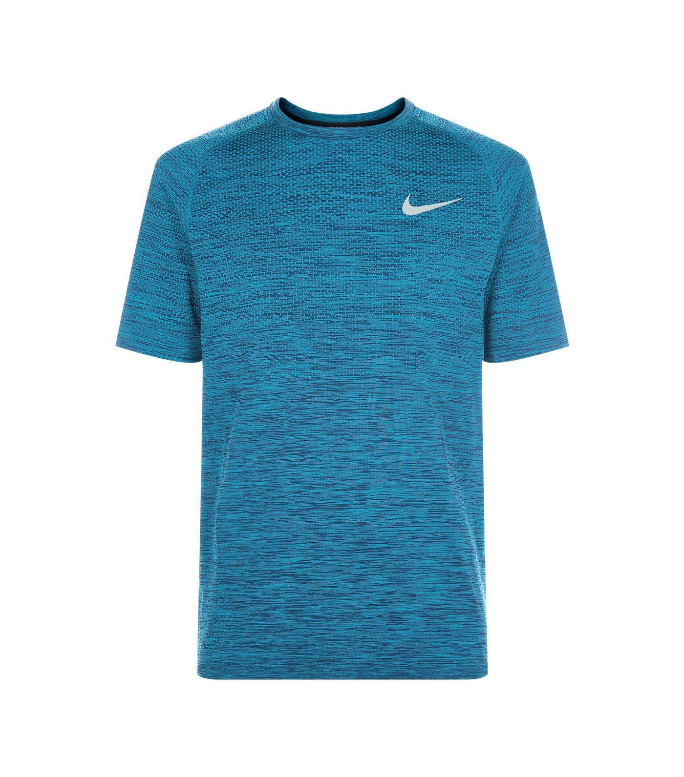 caaae6ee8588b Nike Men. NIKE. Men's Dri-Fit Seamless Running T-Shirt in No Color