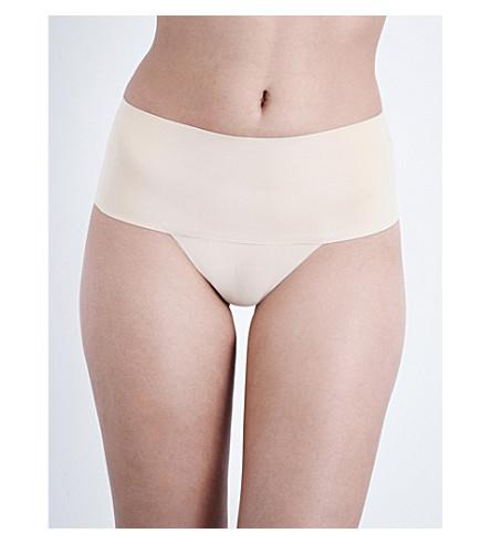 8a9c424b4589 Spanx Undie-Tectable Thong In Soft Nude   ModeSens