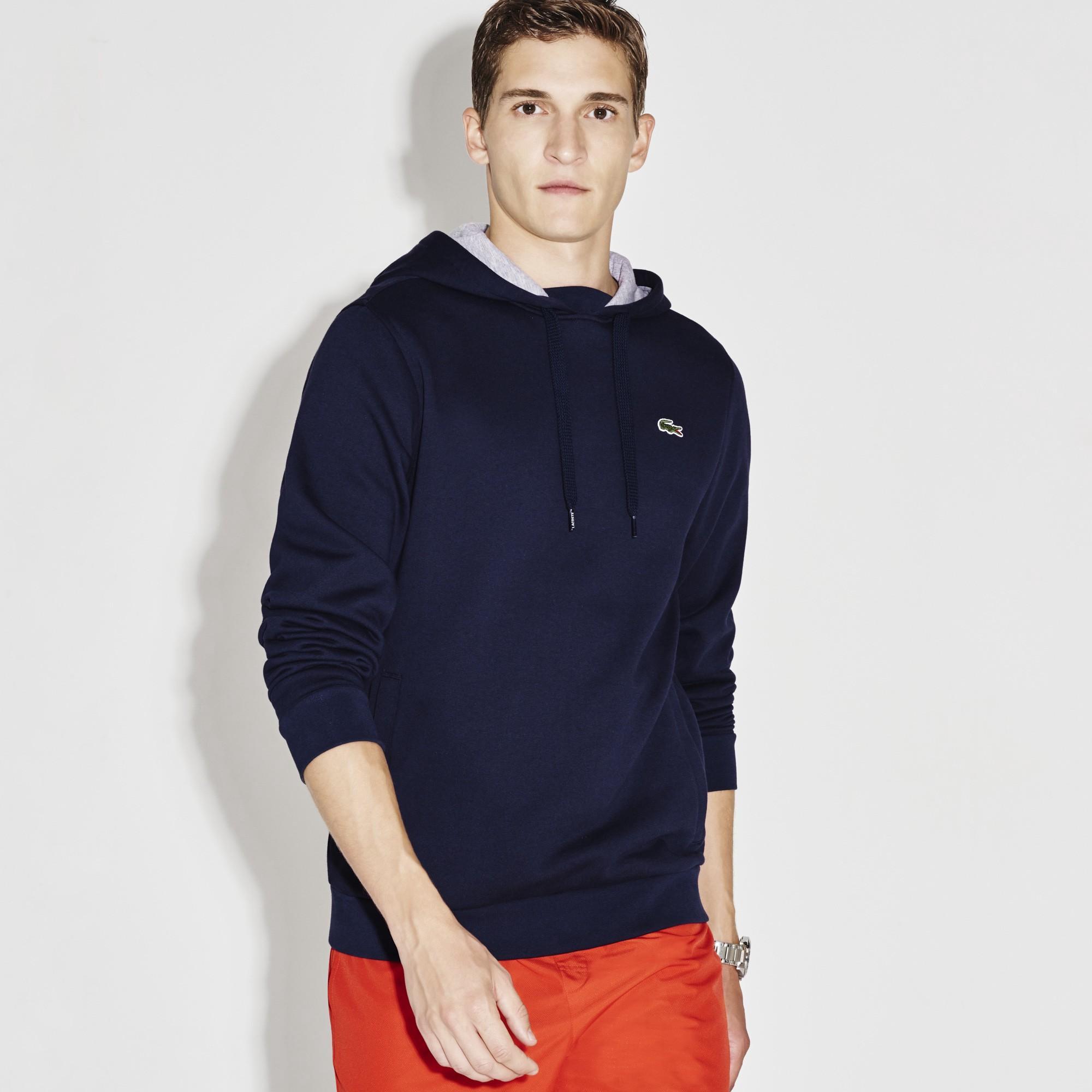 10a66f2ae1 Men's Sport Hooded Fleece Tennis Sweatshirt in Navy Blue