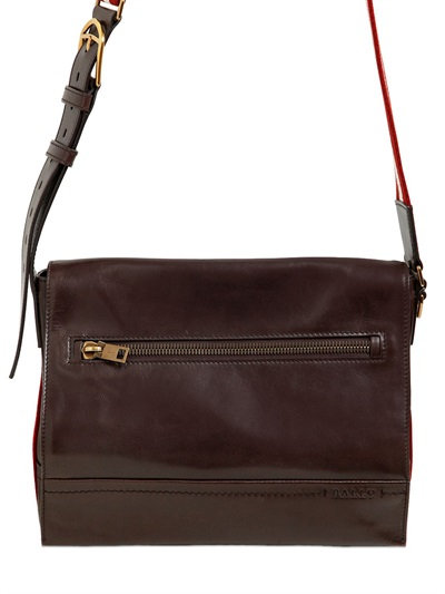 e72a1d6d7ae7 Bally Tamrac Men s Leather Messenger Bag