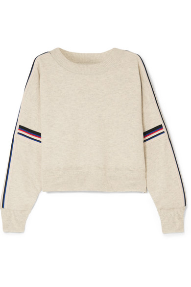 9ccb2b30f4a Etoile Isabel Marant Isabel Marant ÉToile Kao Knit Jumper - Neutrals In  Light Gray