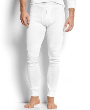 c615fd91e12c 2(X)Ist Men's Cotton Long Johns In White | ModeSens