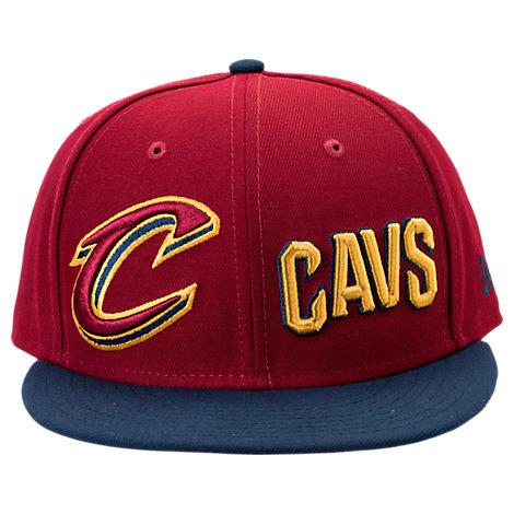 cheap for discount b510a 81648 New Era Cleveland Cavaliers Nba Y2K Double Whammy 9Fifty Snapback Hat, Red