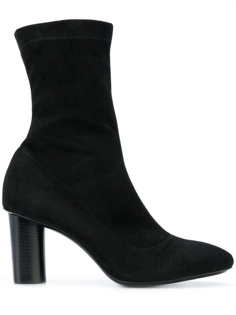 Barbara Bui Heeled Ankle Boots In Black