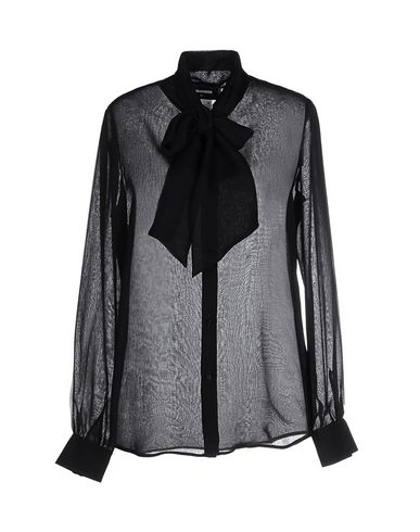 Dsquared2 Shirts & Blouses With Bow In Black