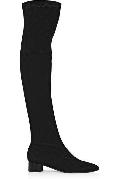 Robert Clergerie Fissa Over-The-Knee Boots In Black
