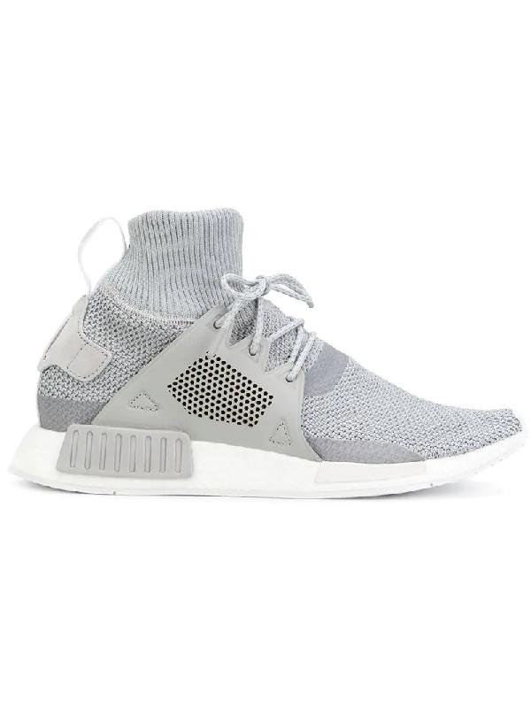 8457f5410fda0 Adidas Originals Nmd Xr1 Winter Sneakers In Gray Bz0633 - Gray In ...