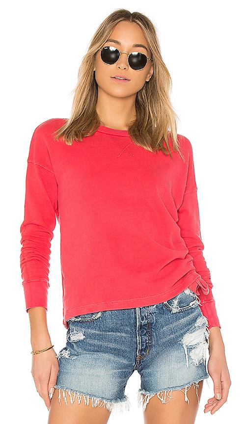 Stateside French Terry Top In Red