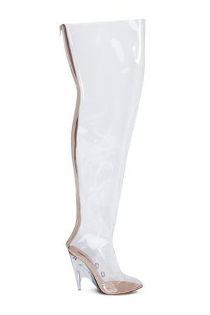 e1bf5926c7e Opening Ceremony Pvc Tubular Boots in Transparent