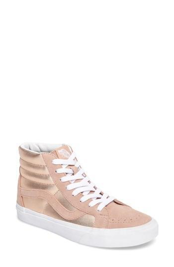 Vans  Sk8-Hi Reissue  Sneaker In Mahogany Rose  True White  90badb657