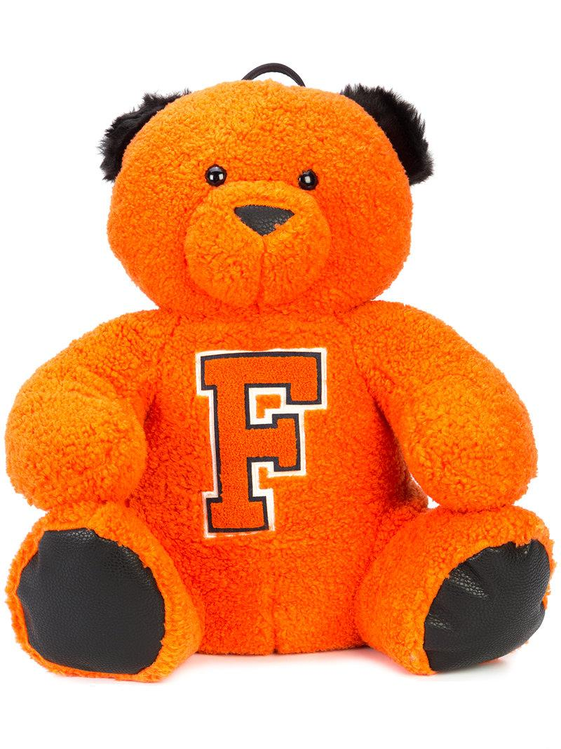 Fenty X Puma Fenty Puma By Rihanna Mascot Bear Backpack In Orange ... 3b70d74cd4d00