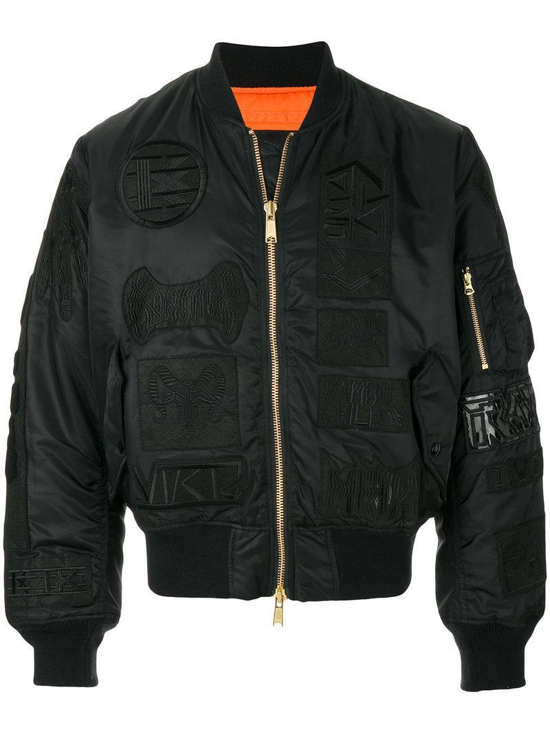 Ktz Classic Bomber Jacket - Black