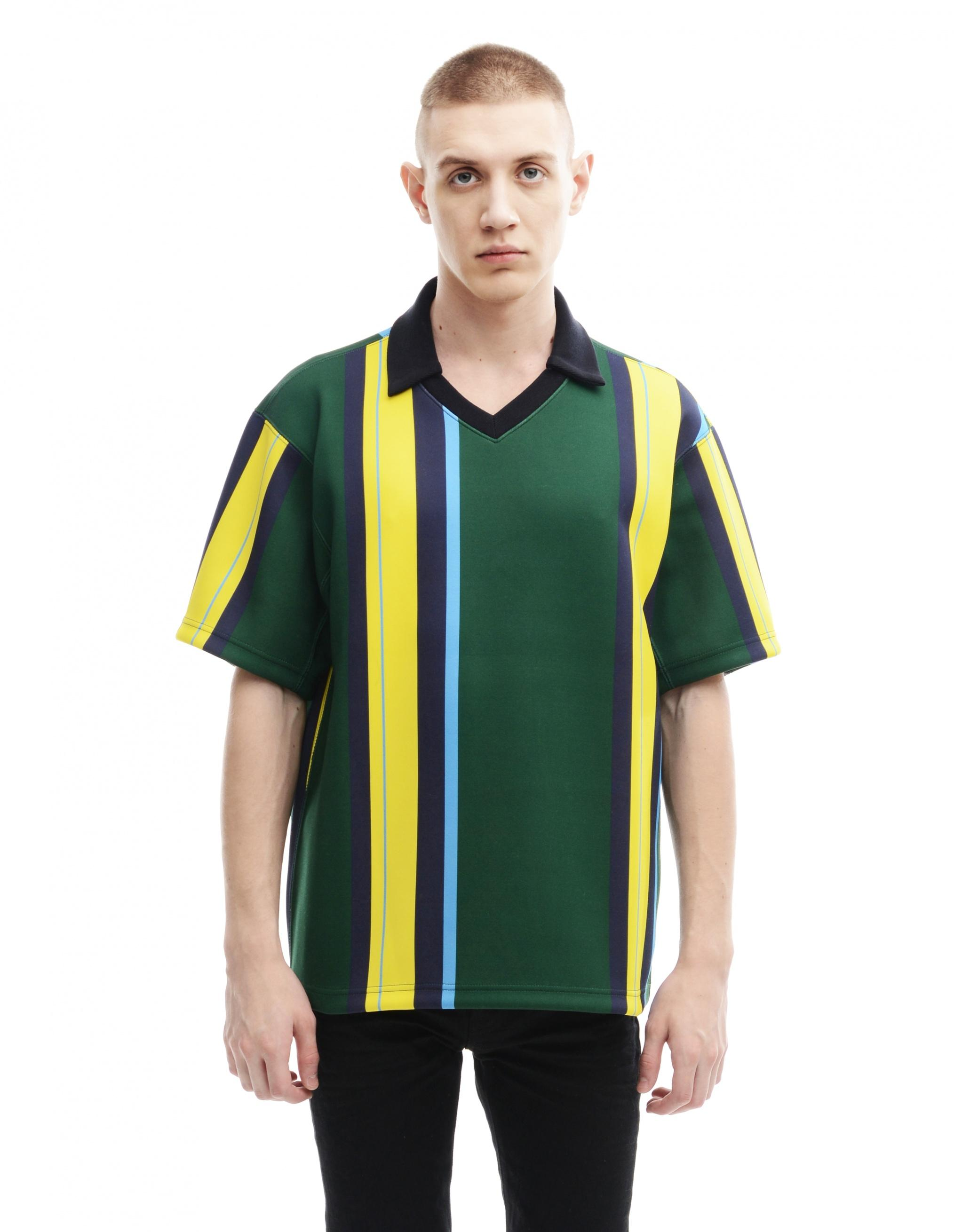 Kolor Polyester T-Shirt In Green