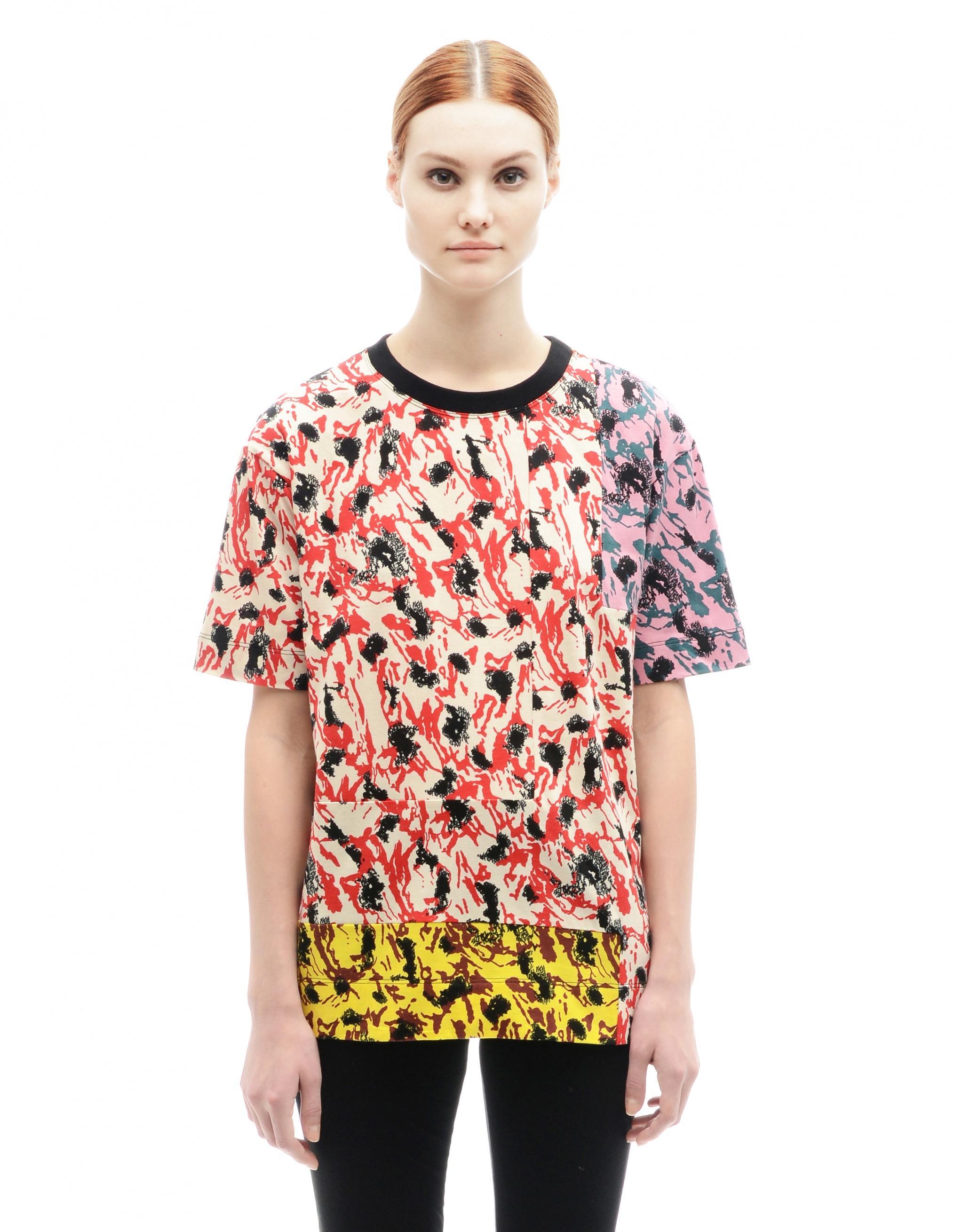Marni Cotton T-Shirt In Multicolor